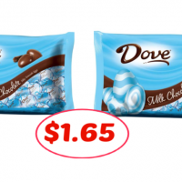 Dove Promises just $1.65 each at Publix!!