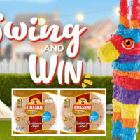 Swing and Win Mission Tortilla Pinata Instant Win Game!