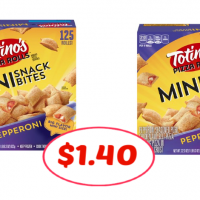 Great Deal on Totino's Mini Snack Bites 125 ct at Publix! Just $1.40 each!