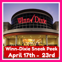 Winn Dixie HOT DEALS & MATCHUPS April 17th – 23rd!