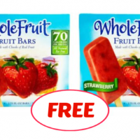 Whole Fruit Bars FREEBIE deal at Publix!