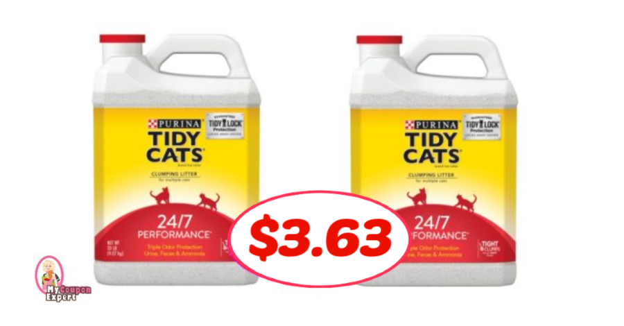 graphic regarding Tidy Cat Printable 3.00 Coupon named Tidy Cats Clutter 20 lb jug simply just $3.63 at Publix! ·