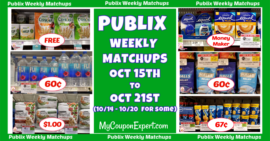 Publix Weekly Matchups October 15th - 21st (10\/14 for some)
