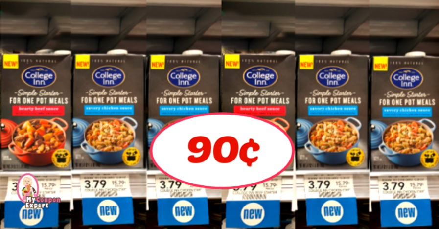 College Inn Simple Starters Just 90 At Publix