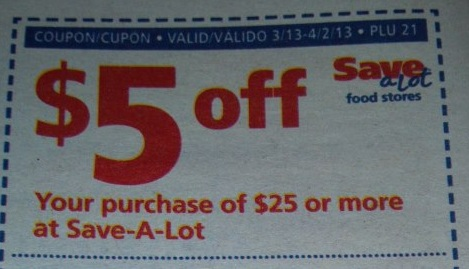 My mail coupons