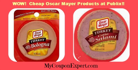 Publix Cheap Oscar Mayer Turkey Bologna on oscar mayer bologna coupons