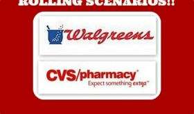 CVS and Walgreens Rolling Scenarios April 5th – 11th!