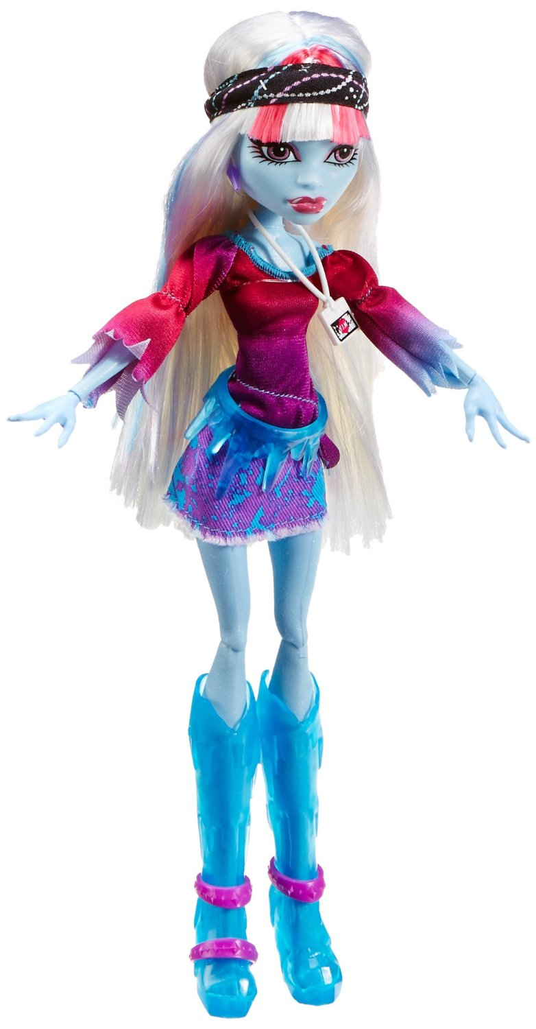 Monster High Music Festival Abbey Bominable Doll Only 8