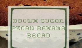 Brown Sugar Pecan Banana Bread
