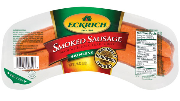 eckrich smoked sausage only  0 75 at publix starting 1  30