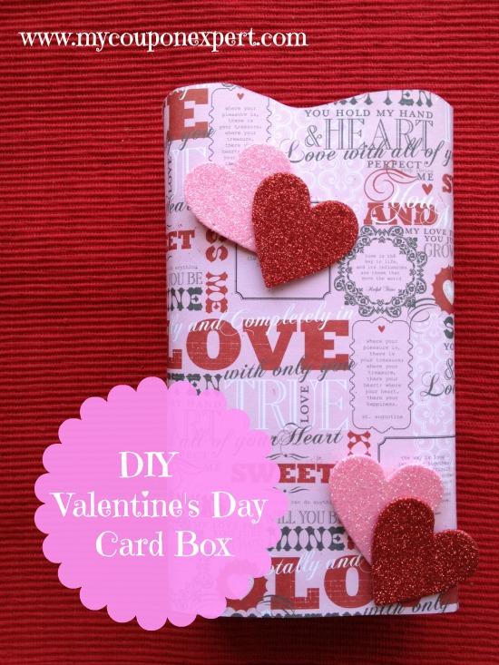 Thrifty Crafty Fun: DIY Valentine's Day Card Box