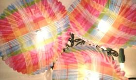 Think Spring: DIY Flower Twinkle Lights