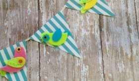 Let's Get Crafty: Easy Spring Bird Banner