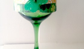 Crafty Fun: Frugal St. Patrick's Day Candle Holder