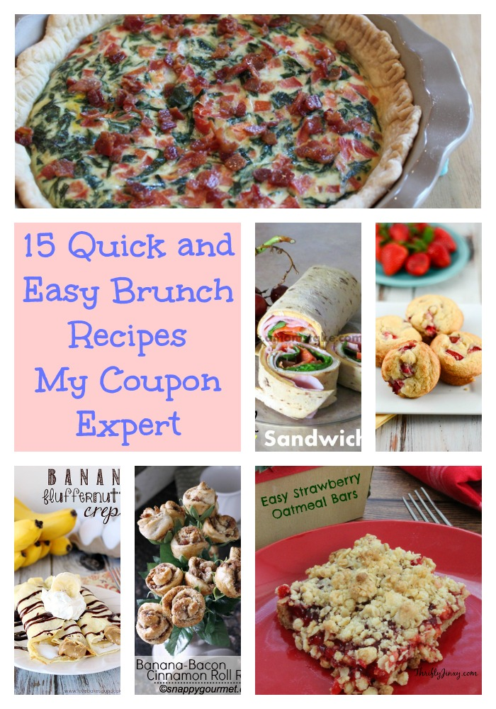 15 Quick and Easy Brunch Recipes
