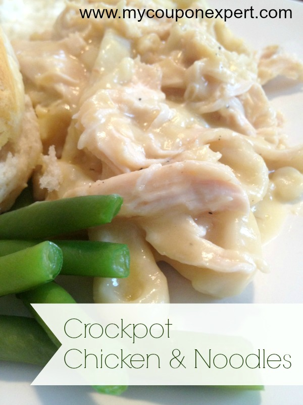 Comfort Food: Easy Crock Pot Chicken and Noodles