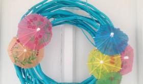 Frugal Crafting Fun: Easy Spring Wreath