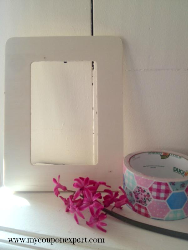 Frugal Fun: DIY Mother's Day Washi Tape Frame
