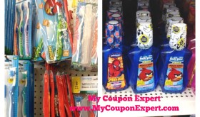 Free Firefly Toothpaste and Toothbrushes at Dollar Tree