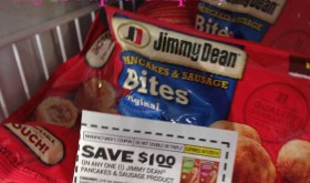 FREE Jimmy Dean Pancakes & Sausage Bites at Dollar Tree