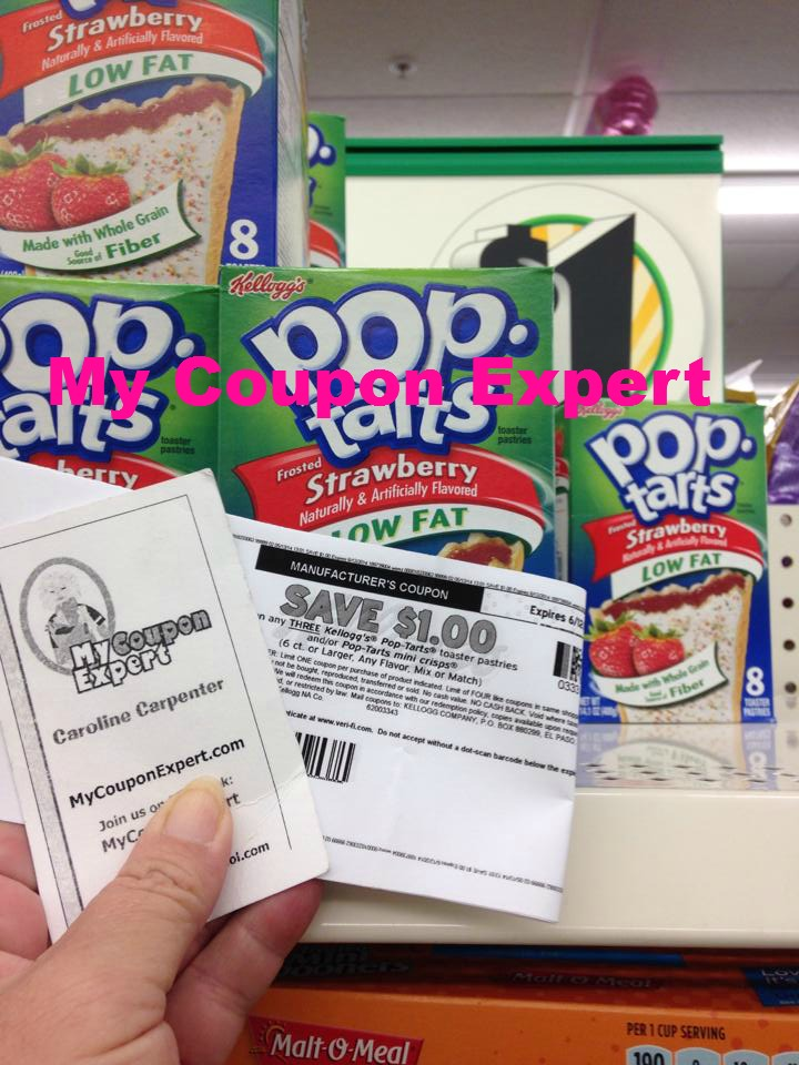 Kellogg's Pop Tarts Only $0.67 at the Dollar Tree