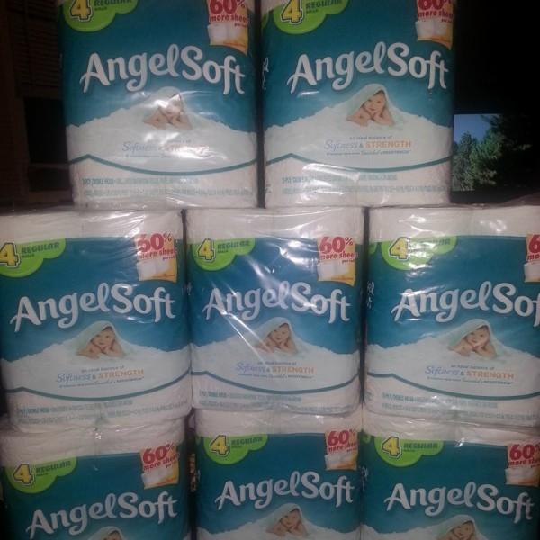 angel soft 4 pack regular