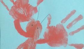 Friday Family Fun: Little Lobster Handprint