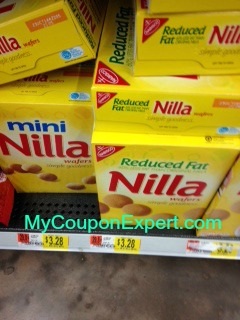 Nabisco Nilla Wafers Only $1.27 at Walmart Until 9/10