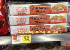Thomas English Muffins Only $1.14 at Walmart Until 8/27