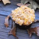 Pumpkin Apple Streusel Muffins 1