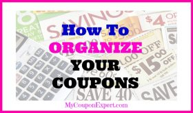 Let's talk about organizing our coupons, GASP!