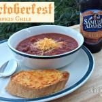 Octoberfest Pumpkin Crockpot Chili