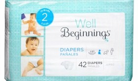 Well Beginnings Diapers Only $5.25 at Walgreens