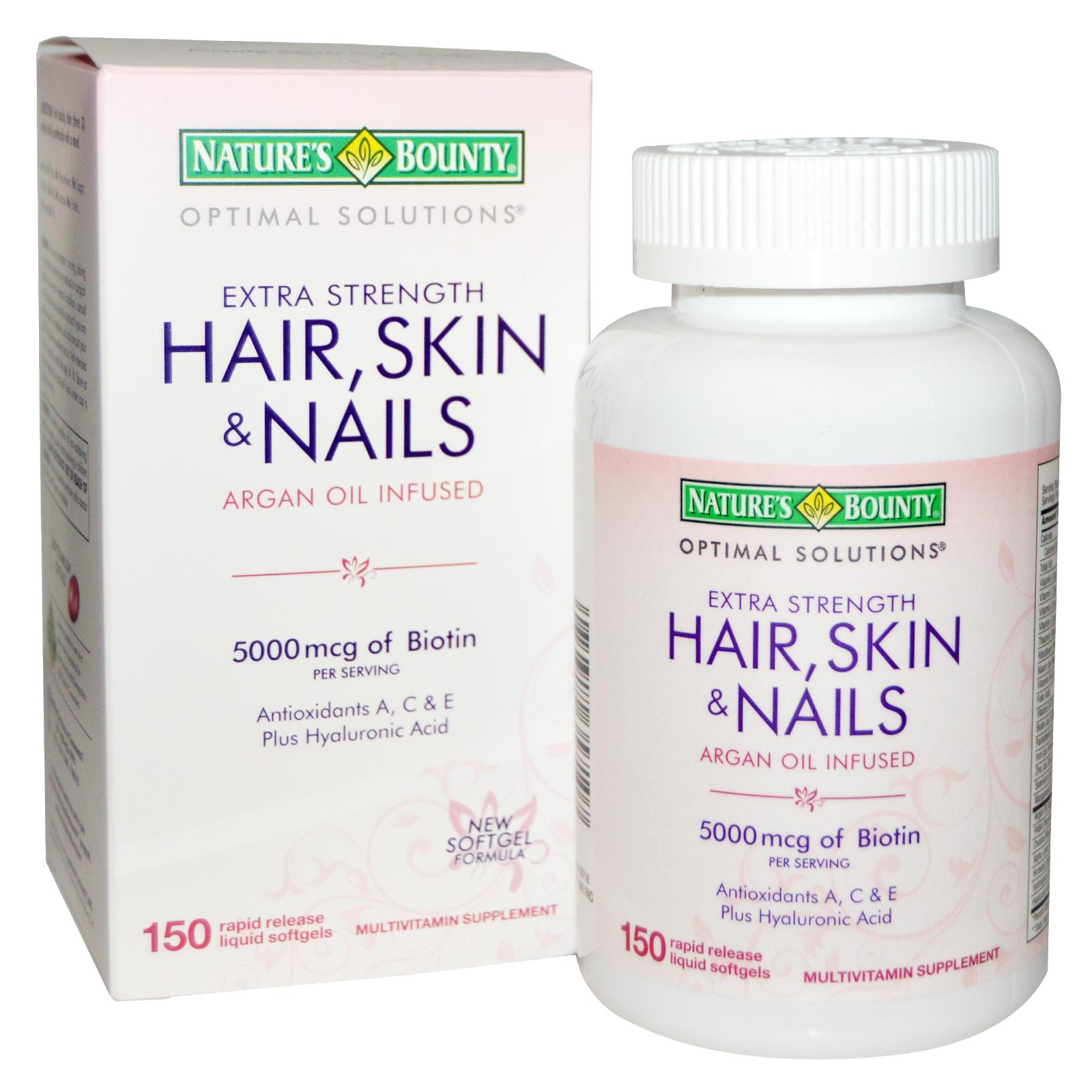 Nature Bounty Hair Skin Nails Coupon