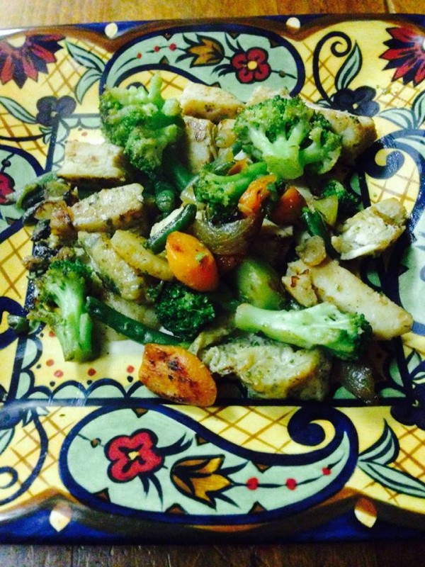 personal trainer food stir fry