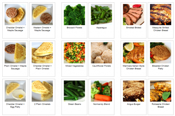 personal trainer foods selection all