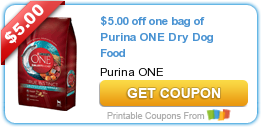 graphic about Purina One Printable Coupon identify Scorching Refreshing Printable Coupon: $5.00 off a person bag of Purina A person