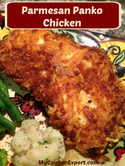 Parmesan Panko Chicken, a Coupon and a GIVEAWAY!