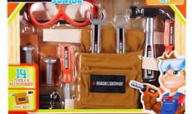 Target 50% off Toy Deal for 11/24 – Black & Decker Jr. Tool Belt Set Only $4.15!!!!