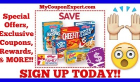 CHECK THIS OUT – EXCLUSIVE Coupons from Kellogg's + SO MUCH MORE!!