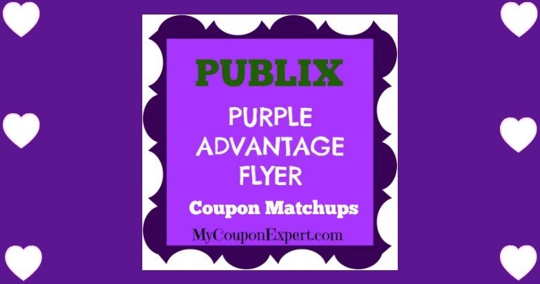 Publix Purple Flyer May 19th – June 1st!