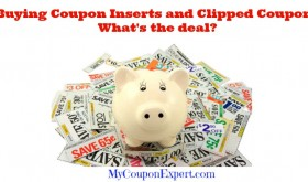 Buying Coupon Inserts and Clipped Coupons online – What's the deal?