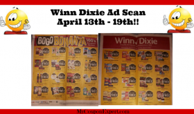 Winn Dixie AD SCAN for April 13th – 19th!!
