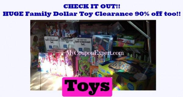 family dollar clearance