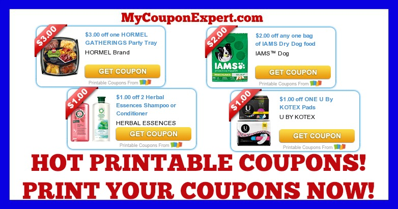 photo regarding Herbal Essences Coupons Printable named Monitor These kinds of Coupon codes Out Print Previously! Hormel, Iams, Organic