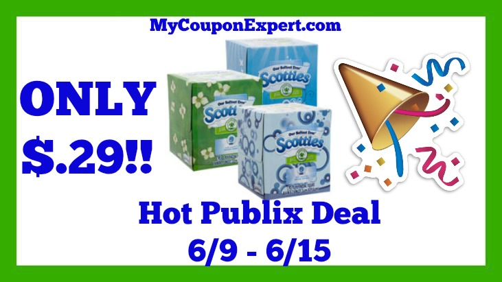 Coupons scotties facial tissues