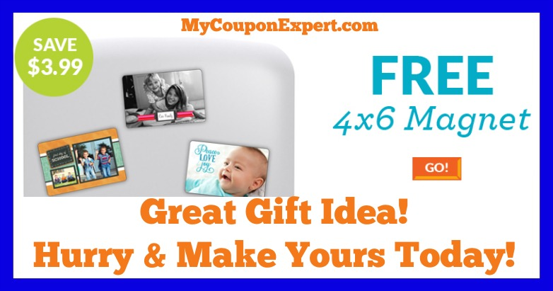{Great Gift Idea!!} FREE 4X6 Photo Magnet from York Photo