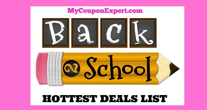 Back to school hot deals