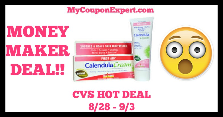 Calendula Cream Hot CVS Deal