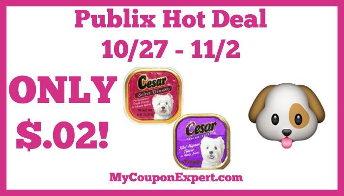 Cesar Dog Food Coupon Deal